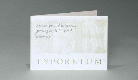 Typoretum flyer front