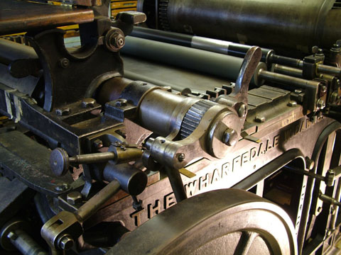 Wharfedale Press detail