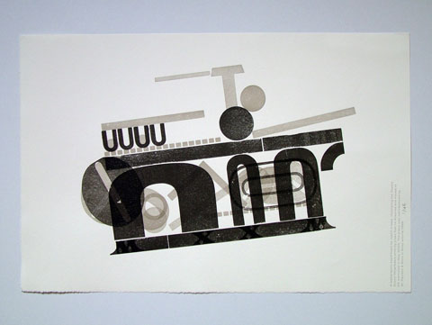 A 'hot printing' homage to H.N. Werkman