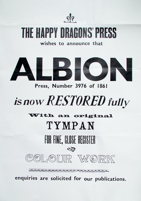 The Happy Dragons' Press / Julius Stafford-Baker
