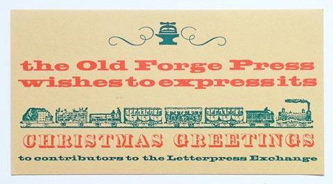 The Old Forge Press / John R. Smith