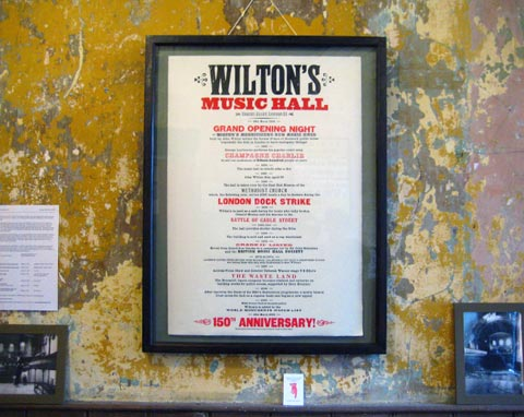 Wiltons 150th Anniversary Poster