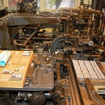 A Monotype Composition Caster at The Whittington Press (image courtesy of Ian Knight/Printmonkey Press)